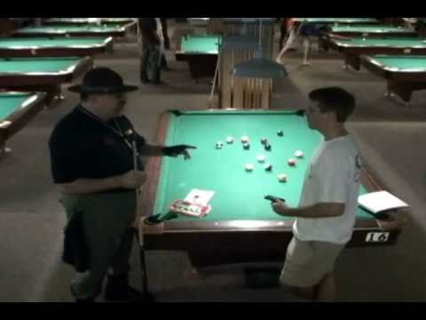 Pool League Uses The Drill Instructor Dominic Esposito to WIN National Tournaments