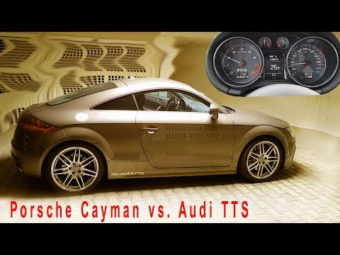 Audi TTS  Vs. Porsche Cayman