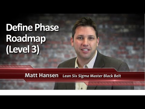 #14 Define Phase Roadmap Levels 3