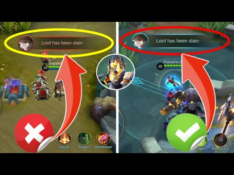 If You Do This You Always Steal Lord   Lord Stealing Guide   Mobile Legends