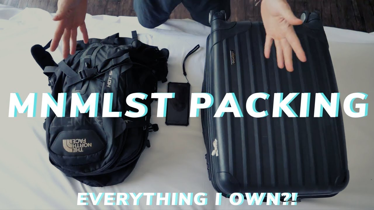WHAT TO PACK ✈️ My Fav Travel Gear & Digital Nomad Minimalist Packing Tips