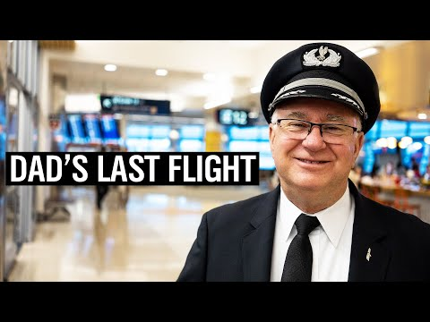 DAD'S LAST FLIGHT AFTER 31 YEARS FLYING WITH AMERICAN AIRLINES