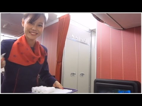 Hong Kong Airlines A330-300 Hong Kong to Bangkok [Full Flight] Business Class