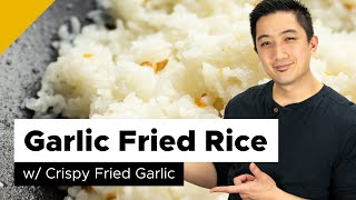 Garlic Fried Rice Recipe (Filipino Style)