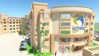 Notion International schools animation