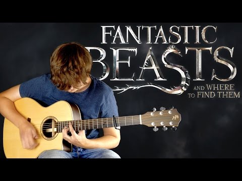 Fantastic Beasts and Where to Find Them (2016) Main Theme [Solo Fingerstyle Guitar Arrangement]