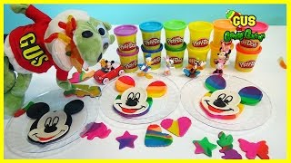 Mickey Mouse Clubhouse Play Doh Rainbow DIY