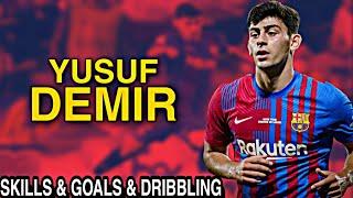 Yusuf Demir Barcelona 2021/2022 Skills & Dribbling
