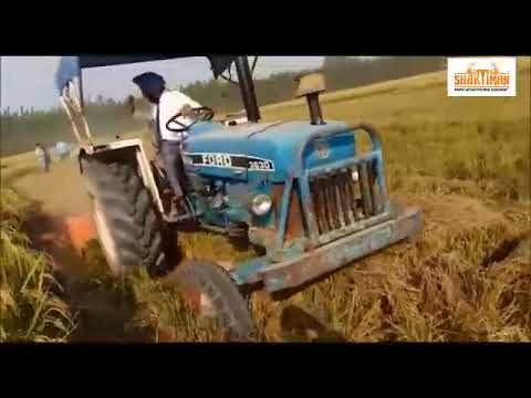 AGRI MECH: SHAKTIMAN Rotary Mulcher