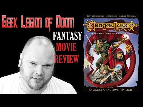 DRAGONLANCE : DRAGONS OF AUTUMN TWILIGHT ( 2008 Lucy Lawless ) Fantasy Movie Review