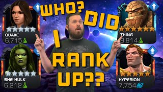 6 Star Rank 2 Thing? Or 5 Star Rank 5 ??? Rank Up! Marvel Contest of Champions