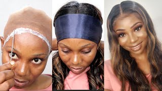 VERY DETAILED BEGINNER FRIENDLY BALD CAP METHOD | EASY AF + NO LIFTING!| ft Tinashehair
