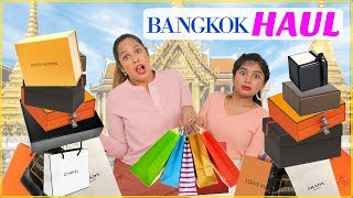 Huge BANGKOK Shopping HAUL - Single vs Married | #FashionTadka #ShrutiArjunAnand #DIYQueen