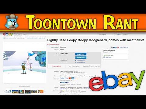 Toontown Rant: Ebay