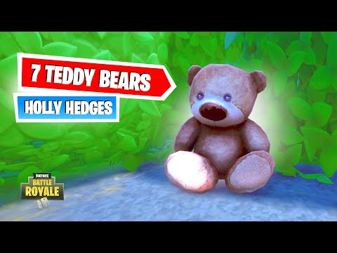 Destroy Teddy Bears In Holly Hedges (ALL LOCATIONS New Challenge)