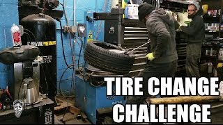 Tire Change Challenge Bodgit & Leggit Will You Accept!