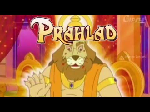 Prahlad Animated Full Movie   Narasimha Avatar Prahlada Charitra   Animation stories for Children
