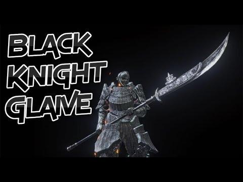 Dark Souls 3: Black Knight Glaive (Weapon Showcase Ep.19)