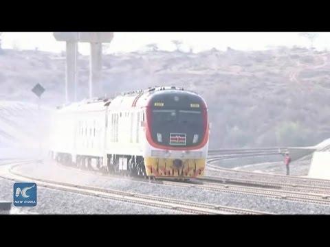 Kenya carries out test on Nairobi-Mombasa railway