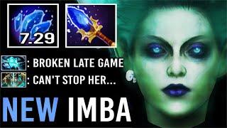 FORGOTTEN IMBA HERO MID IS BACK 7.29 New Shard Krobelus Cant Kill Late Game OP Siphon Fear Dota 2