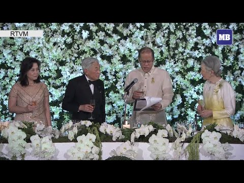 President Aquino thanks Emperor Akihito, Empress Michiko for visiting PH despite old age