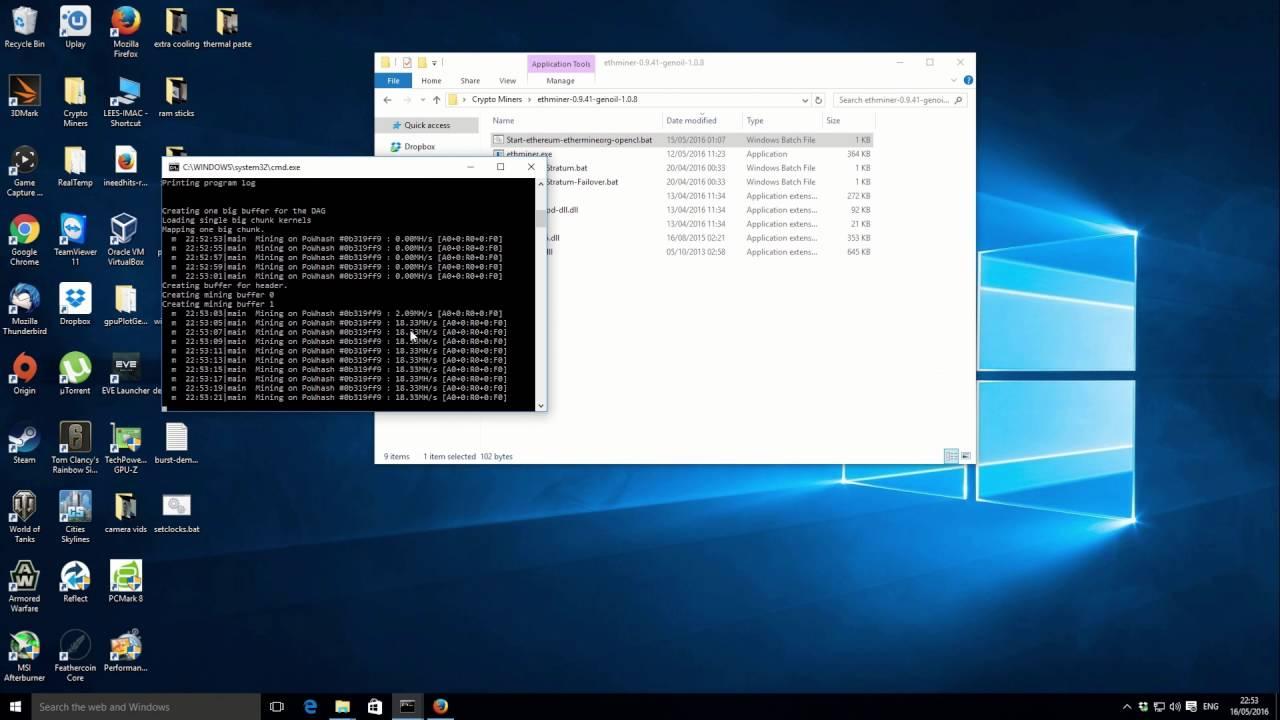 Updated Genoil 1 0 8 Ethminer - Improved display & failover