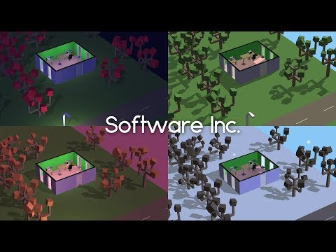 BUILDING A GAME DEVELOPMENT COMPANY!! | Software Inc. Alpha