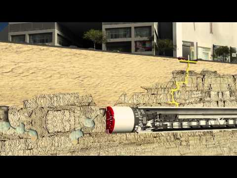 MRT Malaysia- The world's first Variable Density Tunnel Boring Machine