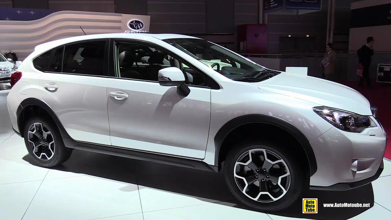 2015 subaru xv 2.0i luxury - exterior and interior walkaround