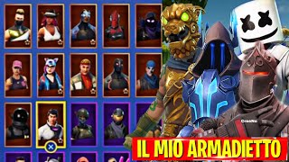 "MY FORTNITE ARMADIETTO!! - ALL SKIN ""Expensive"""