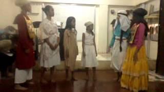 Ang Pagpako sa krus ni Kristo Scene 1