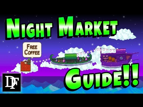 Night Market Guide! New Festival Explained! - Stardew Valley 1.3