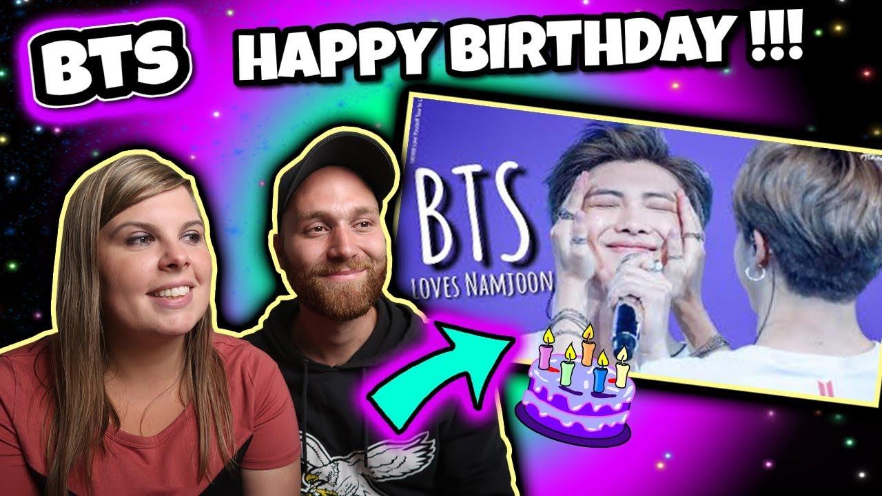 How BTS Loves Namjoon #HappyRMDay Reaction Happy Birthday Joon