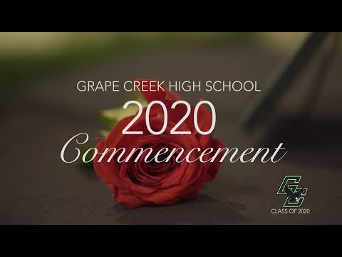 2020 Grape Creek High School Graduation Ceremony | San Angelo, TX