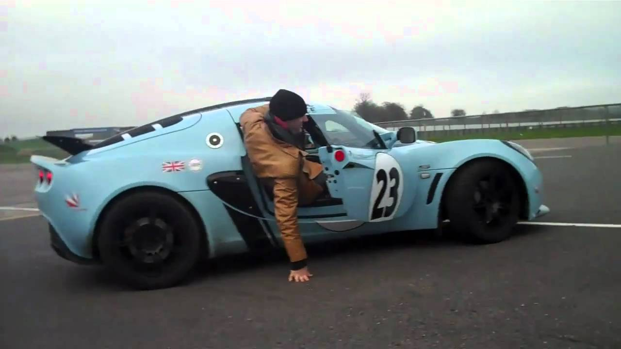 Lotus Tall Man Car Gives Birth YouTube - Sports cars for tall guys