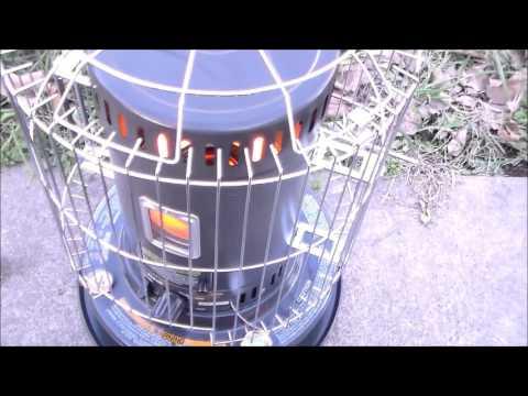 Kerosene Heaters first burn