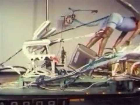 CRASH TEST OF BOEING 777 SEATS - SEAT FAILURE!