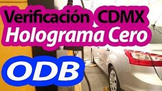 Verificación Holograma 0 con ODB en la #CDMX #Verificentro