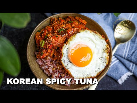 Korean Spicy Tuna Recipe | My Go-to Easiest Dinner Recipe I Learned from My Mom