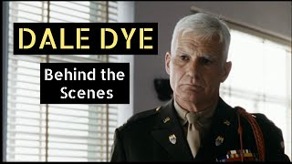 Behind the scenes with Actor/Writer Dale Dye (Capt. USMC ret.)