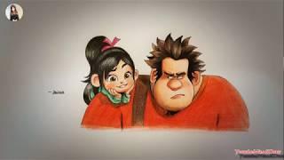 [Mina&Draw]Draw Wreck-It Ralph&주먹왕 그리기&画无敌破坏王