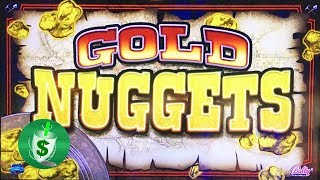 Gold Nuggets slot machine, caught - but got it anyway