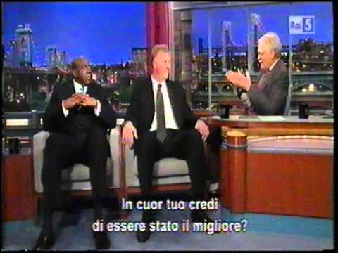 Magic Johnson & Larry Bird ospiti al Late Show di Letterman sub ita, parte due