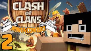 Clash of Clans nel Minecombat - Miniera D'Oro & Estrattore di Elisir