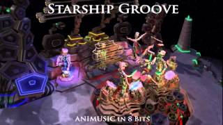 ANIMUSIC In 8 Bits: Starship Groove (OUTDATED, SEE DESCRIPTION)