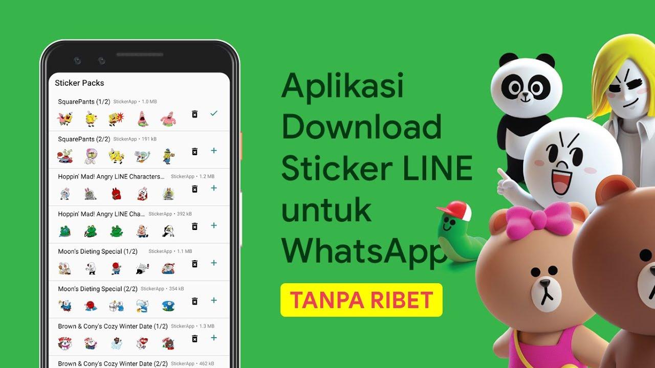 Cara Download Sticker LINE untuk WhatsApp | Rifki id
