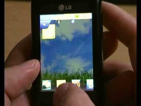 LG T300: Виджеты