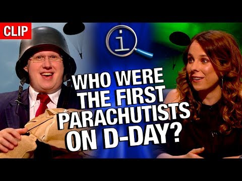 QI  Who Were The First Parachutists On DDay?