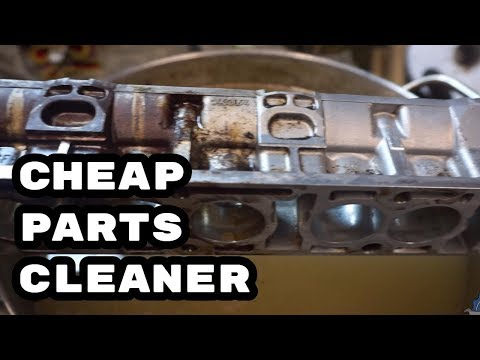 """DIY """"ultrasonic"""" cleaner and degreaser # Engine rebuild DIY and SWAP BMW M54"""