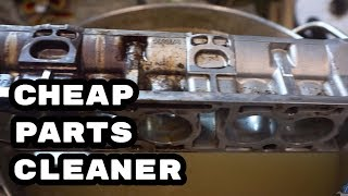 "DIY ""ultrasonic"" cleaner and degreaser # Engine rebuild DIY and SWAP BMW M54"